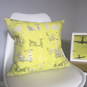 Linen Scooter Cushion - baby's room