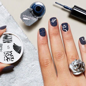 The Tailor's Choice Nail Art Stamp