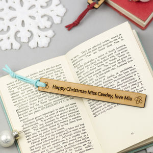 Christmas Teacher Gift Bookmark