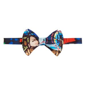 Modern Bow Tie Harry Clarke Two Faces Print