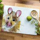 Inky Mouse Glass Worktop Saver