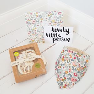 Liberty Print Teething Gift Set - gift sets