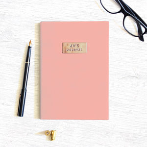 Personalised Copper Journal - personalised gifts for him