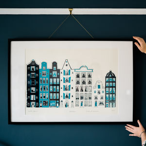 Amsterdam Screen Print - posters & prints