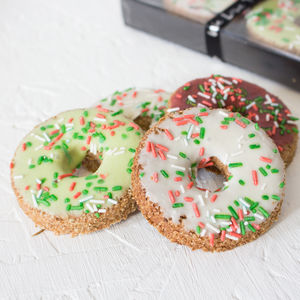Christmas Doughnut Dog Treats - what's new