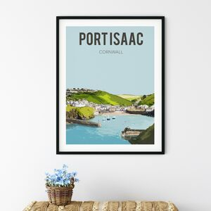 Port Isaac, Cornwall Fine Art Travel Poster