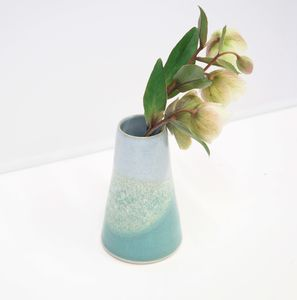 Handmade Ceramic Bud Vase - table decoration
