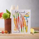 Carrot Cake Plantable Carrot Seed Card
