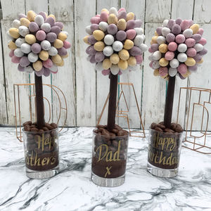 Personalised Cadbury's Mini Egg Sweet Tree - novelty chocolates
