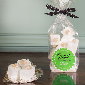 Hazelnut Liqueur Marshmallows - chocolates & confectionery
