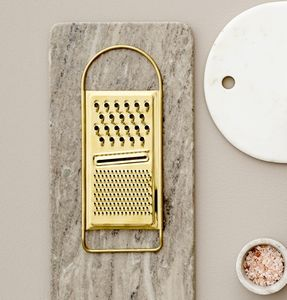 Gold Finish Grater - foodie