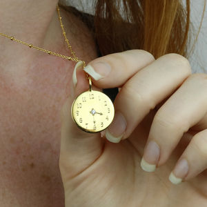 Bespoke Time Necklace - our top new picks