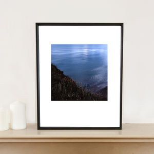 A View From Red Rock, Devon, Signed Art Print