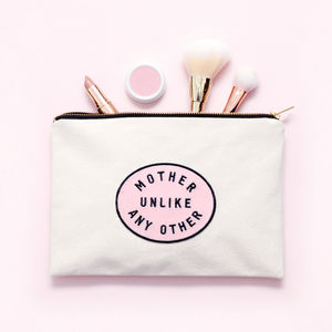 'Mother Unlike Any Other' Canvas Pouch