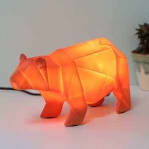 Origami Bear Night Light
