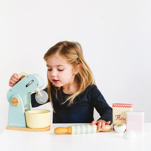 Personalised Wooden Food Processor Toy