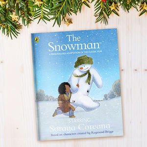 Personalised 'The Snowman™' Book - christmas eve