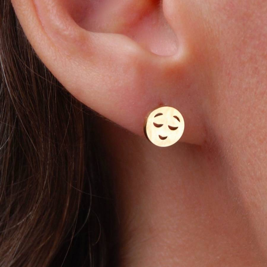 stud licensed poop officially bodycandy earrings collections jewelry emoji body