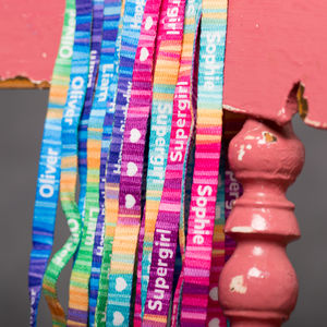 Kids Shoelaces With Name/Text - clothing