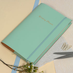 A5 Wedding Planner Refillable Notebook