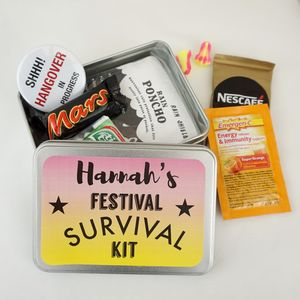 Festival Survival Tin