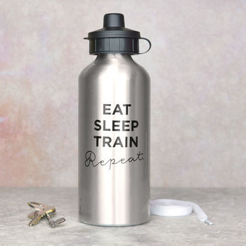 Slogan Water Bottle For Marathon Runner