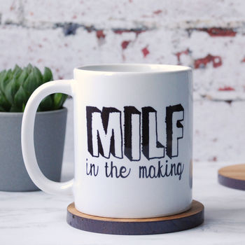 Personalised Milf In The Making Mug