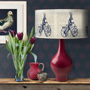 Deer On Bicycle Lampshade