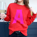 Personalised Initial Alphabet Sweatshirt