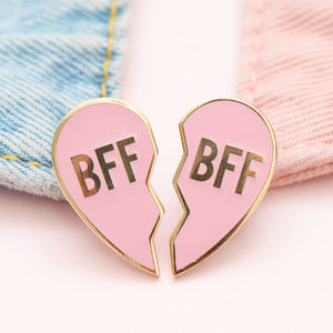 Bff Enamel Pin Set