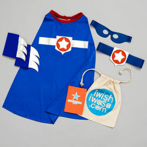 Superhero Gift Set Super Star Costume Set Luxe - whatsnew