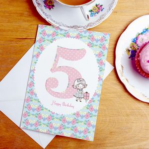 5th Birthday Card - shop by category
