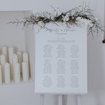 Felicity Table Plan