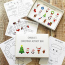 Christmas Activity Box
