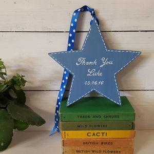 Pageboy Star - wedding thank you gifts