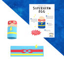 Make Your Own Superhero Egg Character