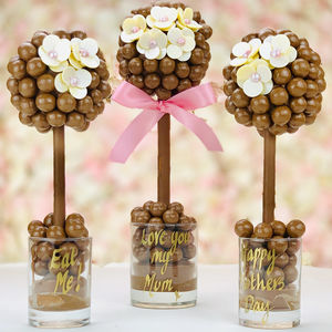 Mothers Day Malteser Daisy Button Tree