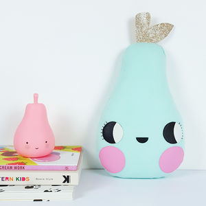 Happy Little Pear Shaped Decorative Cushion - new in baby & child