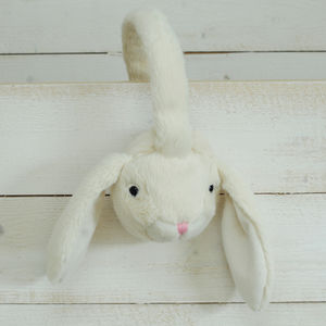 Cream Bunny Ear Muffs - children's accessories
