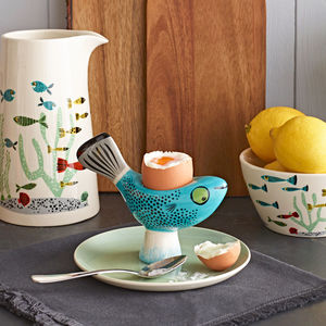 Fish Egg Cup - egg cups & cosies