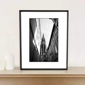 Cathedral, Rouen, France Art Print