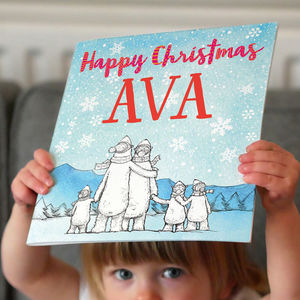 Personalised Children's Christmas Book