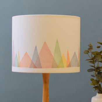 Mountains Lampshade