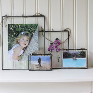 Zinc Glass Frames