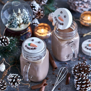 Marshmallow Snowman Hot Chocolate Kit - christmas eve for grown ups