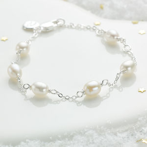 My First Pearl Bracelet - children's jewellery