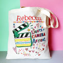 Lights, Camera, Action Personalised Bag
