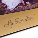 Love Hearts Photo Frame in Gold