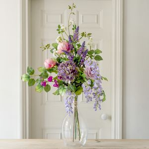 Artificial Luxury Cottage Garden Flower Bouquet