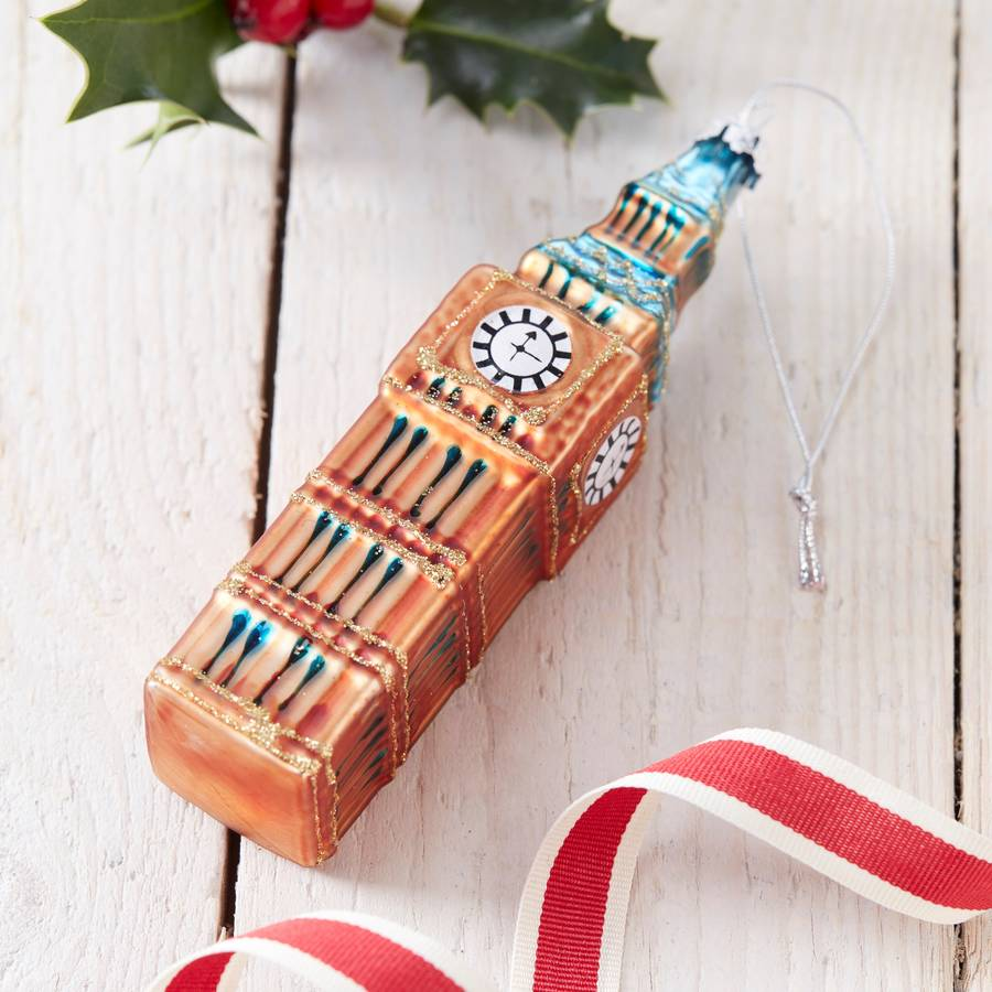 Great British Christmas Tree Decorations By The Christmas